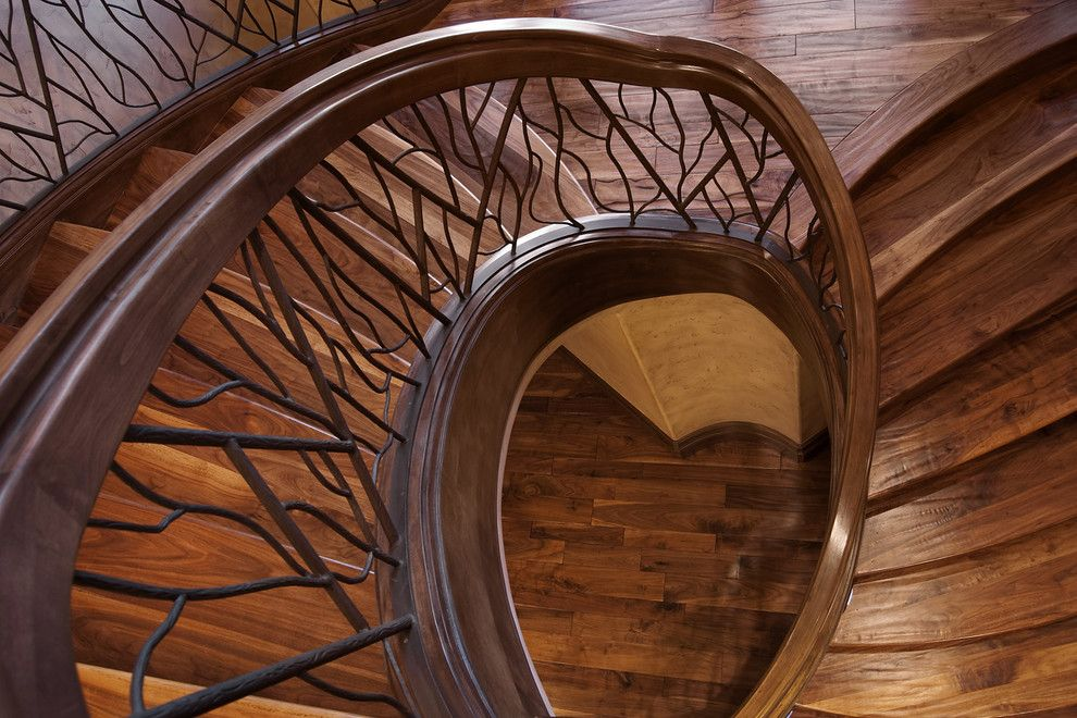 Salt Lake City Elevation for a Traditional Staircase with a Traditional and Salt Lake City, Utah Luxury Home by Markay Johnson Construction by Markay Johnson Construction