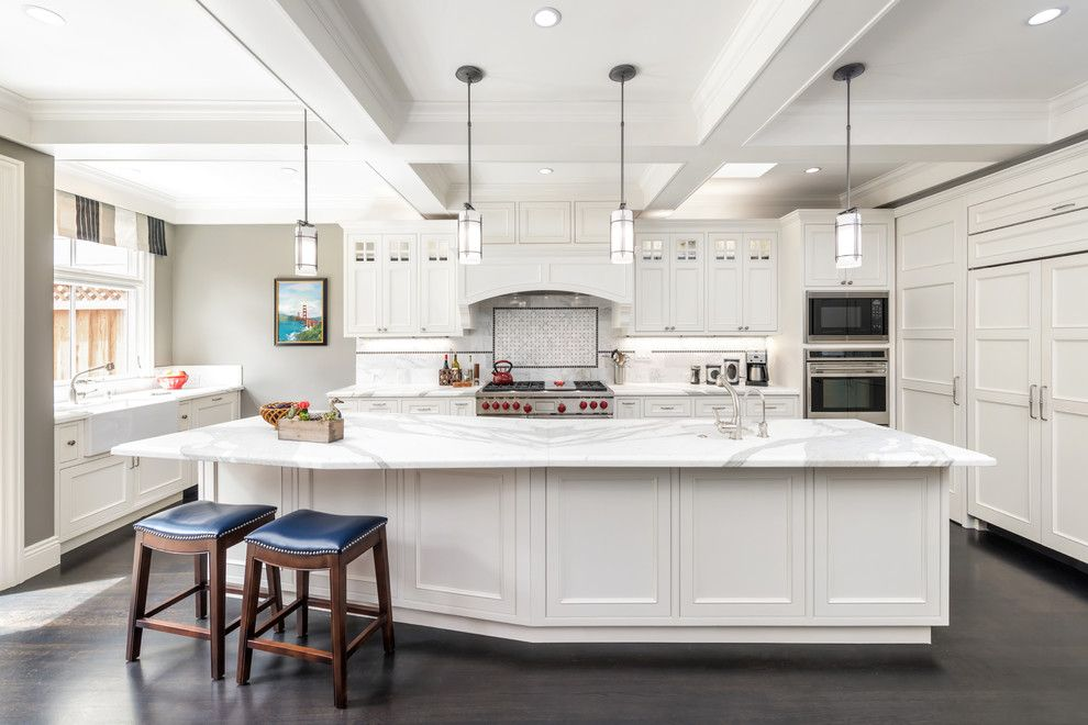 San Bernard Electric for a Traditional Kitchen with a Winder Gibson Architects and Eureka Valley House by Winder Gibson Architects