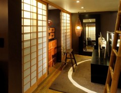 San Francisco Exploratorium for a Asian Closet with a Shoji Screen and San Francisco Re:dux by Turner Martin Design