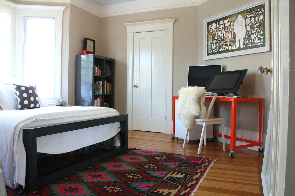 San Francisco Exploratorium for a Eclectic Bedroom with a Wood Floor and My Houzz: San Francisco by Shannon Malone