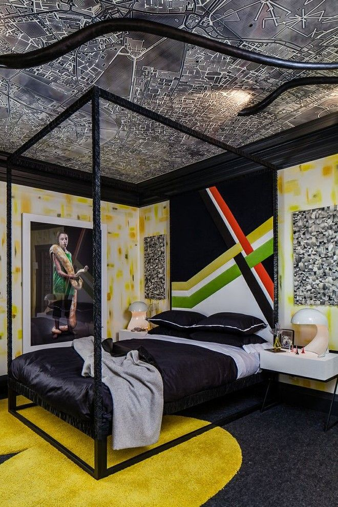 San Francisco Exploratorium for a Eclectic Kids with a Bold Color and San Francisco Decorator's Showcase 2013  Teenage Girl's Bedroom by Applegate Tran Interiors