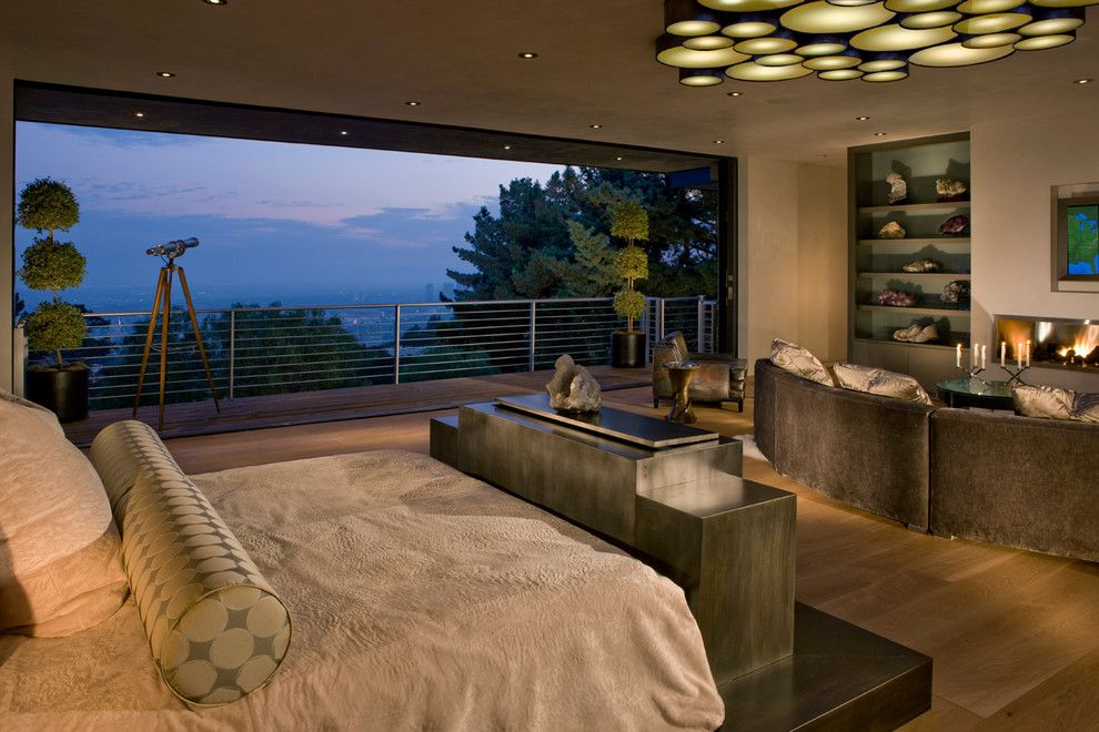 San Francisco Must See for a Contemporary Bedroom with a Sliding Door Hardware and Fleetwood Distinguished Photos by Fleetwood Windows & Doors