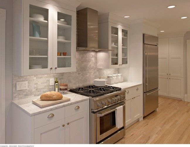 San Francisco Must See for a Contemporary Kitchen with a Light Wood Floors and San Francisco Kitchen by Michael Merrill Design Studio, Inc