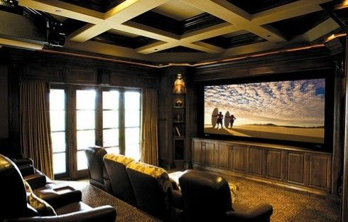 San Mateo Theater for a Contemporary Spaces with a Rancho Santa Fe Home Theaters and Kiwi Audio Visual by Kiwi Audio Visual