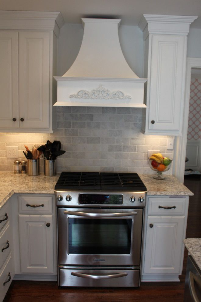 Sanded or Unsanded Grout for a Traditional Kitchen with a Glass Doors and Likens Job, by Southern Kitchens, Ltd. Co