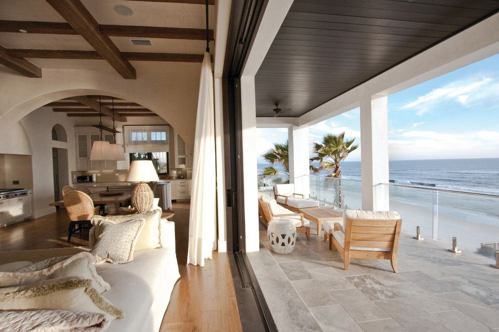 Santa Barbara Back Page for a Tropical Balcony with a Covered Porch and Seagrove, Fl by Summerour Architects