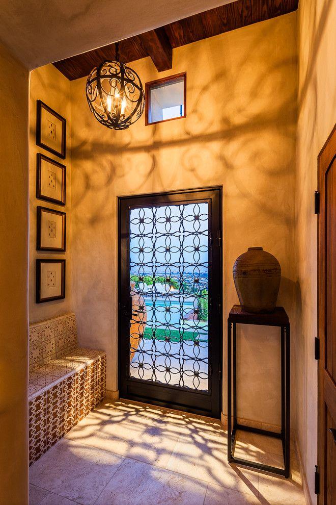 Santa Barbara Presidio for a Mediterranean Entry with a Gates and Arbolado by Santa Barbara Forge and Iron