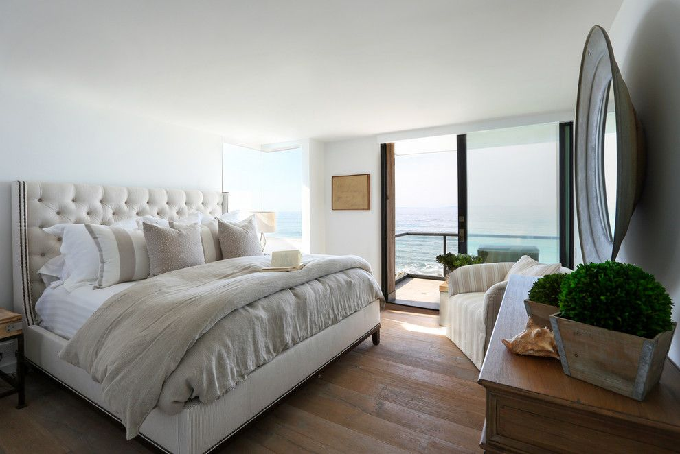 Santa Paula Regency for a Beach Style Bedroom with a Transitional and Coastal Contemporary   Santa Barbara by Jodi Fleming Design