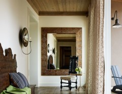Santa Paula Regency for a Transitional Hall with a Jute Rug and Santa Rosa Residence by Jennifer Robin Interiors
