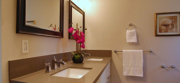 Santa Ynez Weather for a Contemporary Bathroom with a Quartz and Santa Ynez Valley Rancher by Next Generation Capital