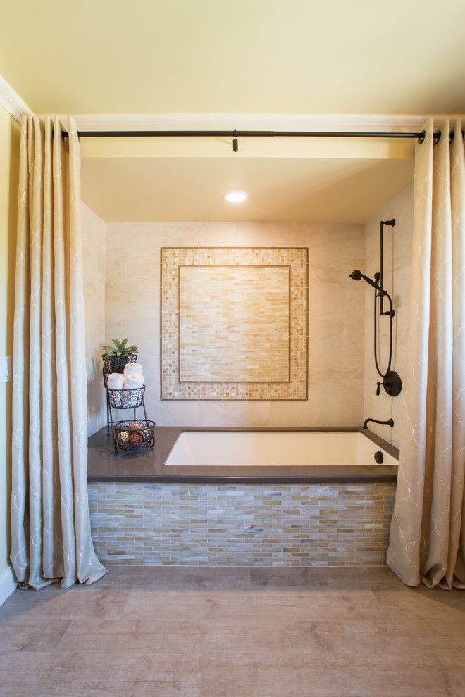 Santec for a Traditional Bathroom with a Bathroom Tile and Bathrooms and Sanctuaries by Case Design/remodeling San Jose