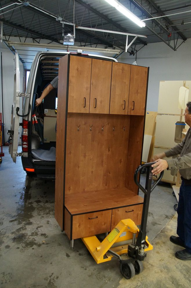 Savers Woodbury Mn for a Traditional Garage with a Uppers and Rasmussen Garage Mudroom, Oct. 2015 by MN Garage Cabinets Direct (Star Three, LLC)