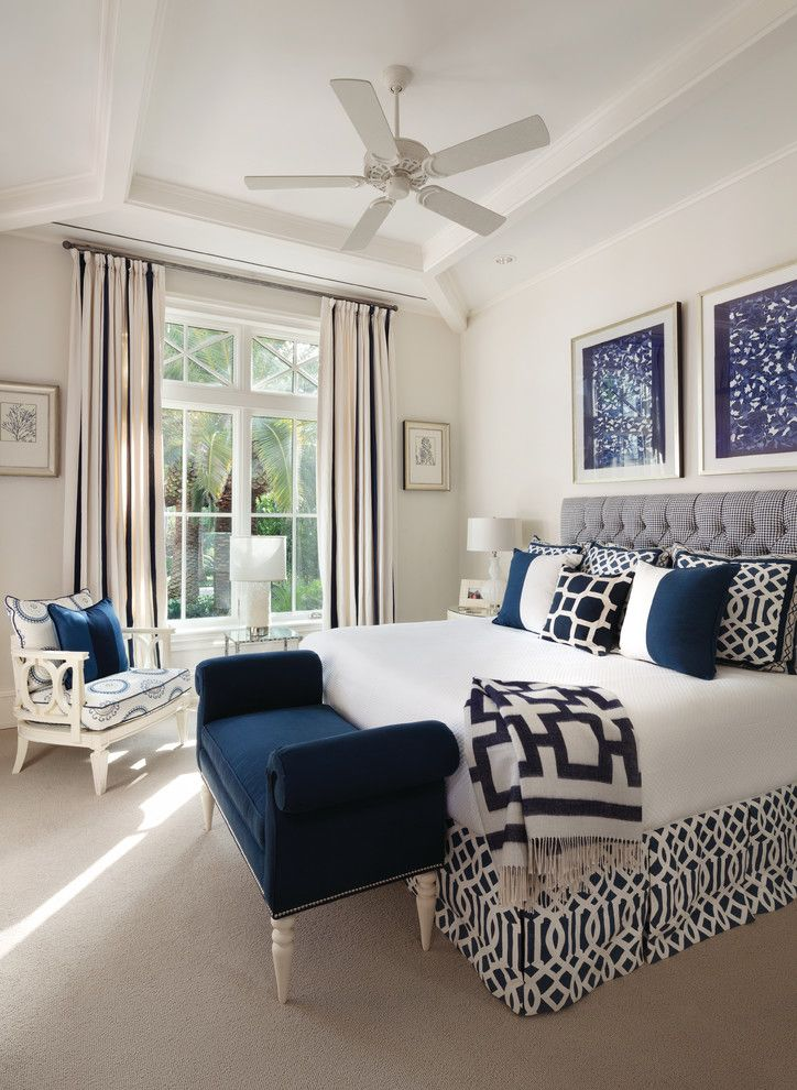Schaefers for a Transitional Bedroom with a Lots of Patterns and January 2016 Southwest Florida Edition by Home & Design Magazine Naples