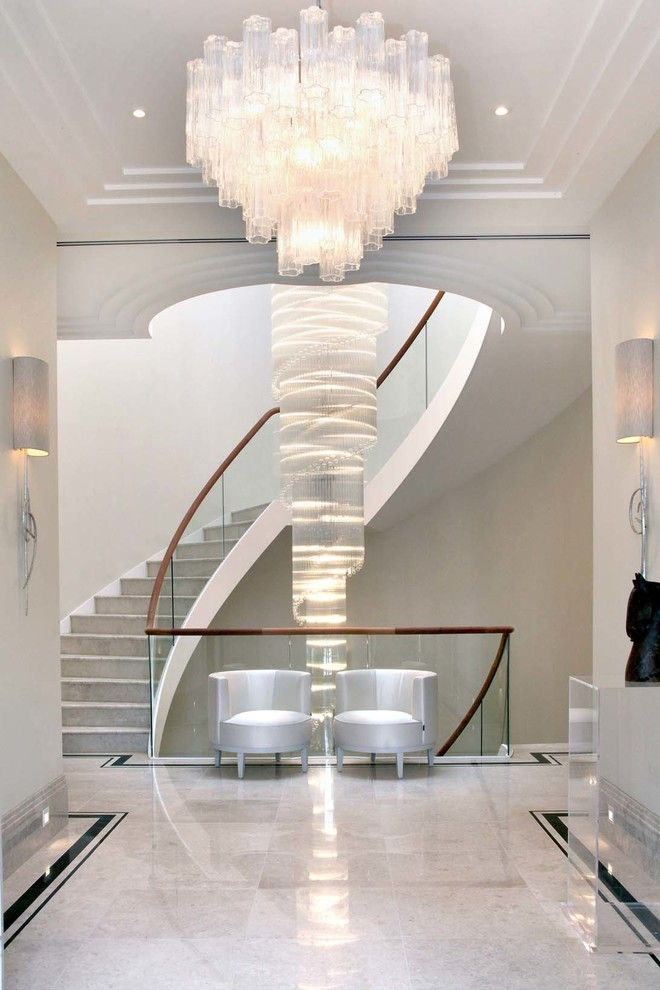 Sconce Definition for a Contemporary Staircase with a Sconces and Private House by Lightstyle