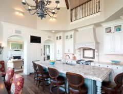 Scott Felder Homes for a Traditional Kitchen with a Suzani and Medina Luxury Home by Schrader & Companies