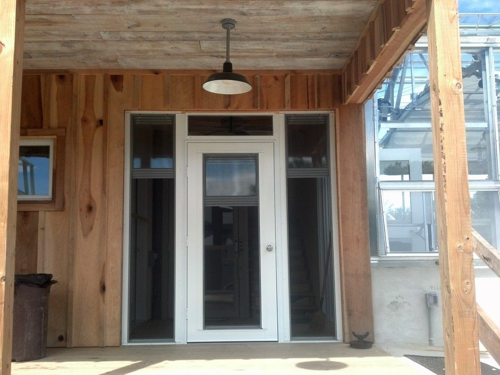 Screenmobile for a Traditional Porch with a Pgt Eze Breeze Before After Pics and Pgt  Eze Breeze 3 Season Enclosures by Screenmobile of Delmarva