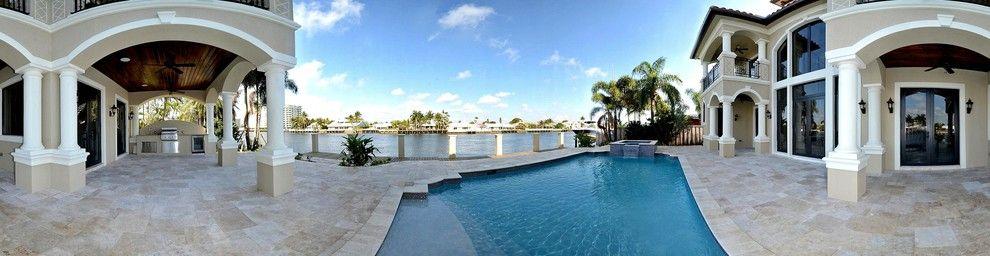 Sea Club Resort Fort Lauderdale for a Mediterranean Exterior with a Mediterranean and Fort Lauderdale   Lauderdale by the Sea Mediterranean Home by Waterbrook Builders