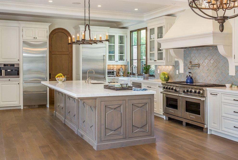 Seabrook Island Sc for a Mediterranean Kitchen with a Spanish and Palos Verdes by Evan Braun Design, Inc.