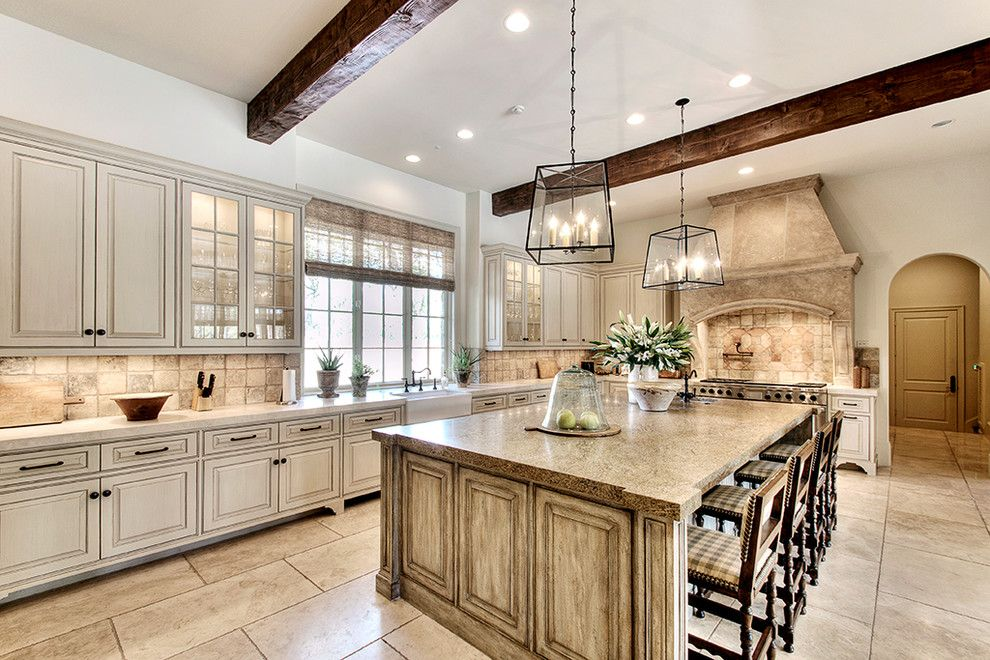 Seabrook Island Sc for a Traditional Kitchen with a Exposed Beams and Friar Tuck-Memorial Village by Parker House Inc.