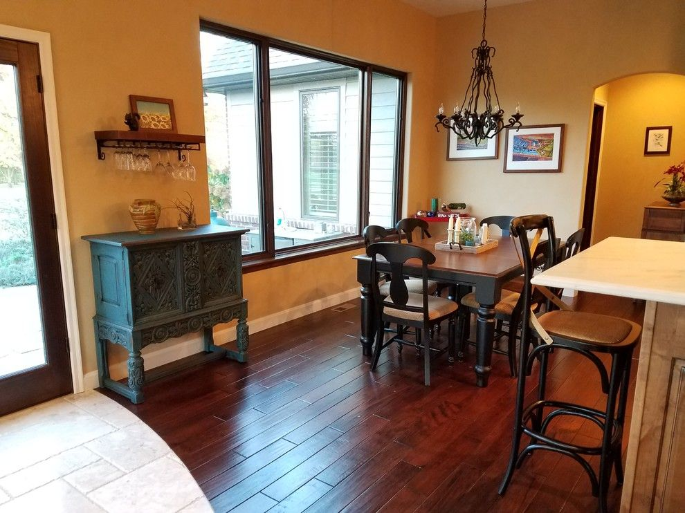 Sears Bloomington Il for a Traditional Dining Room with a Hickory and French Country Kitchen Dining   Up Cycled Painted Cabinet by Upcycled Woods