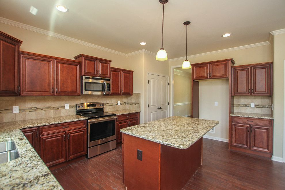Sears Clarksville Tn for a Traditional Kitchen with a Tennessee and New Floorplan in Eagles Landing by Crabbe Homes