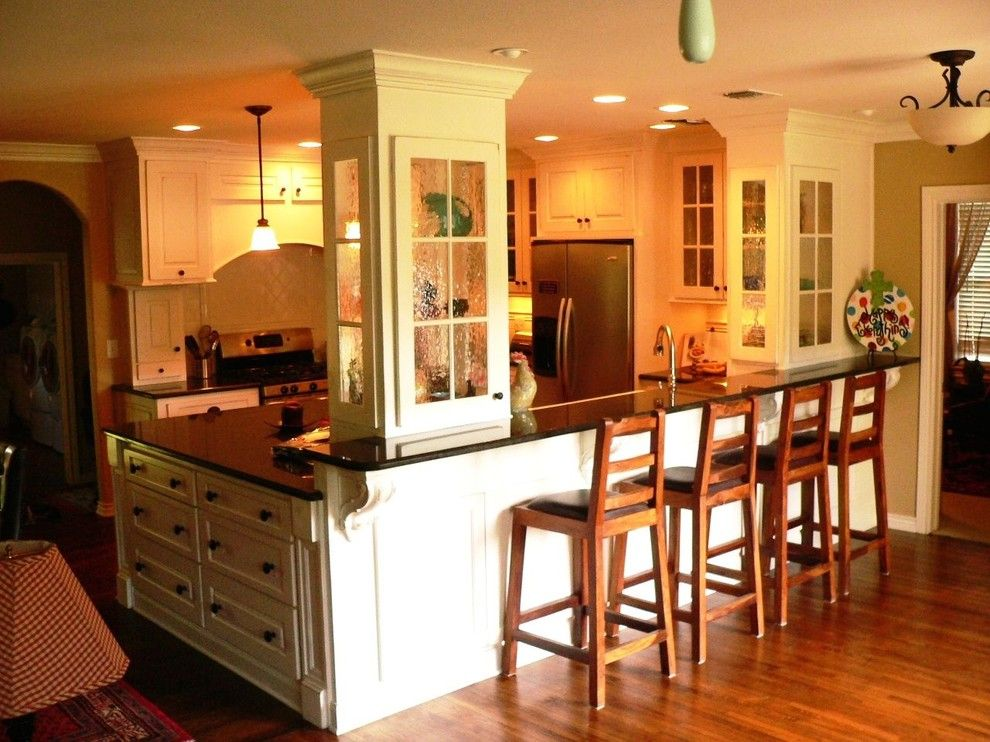 Sears Kit Homes for a Craftsman Kitchen with a Kitchen Designs San Antonio and Traditional / Craftsman by John Dancey Custom Designing/remodeling/building