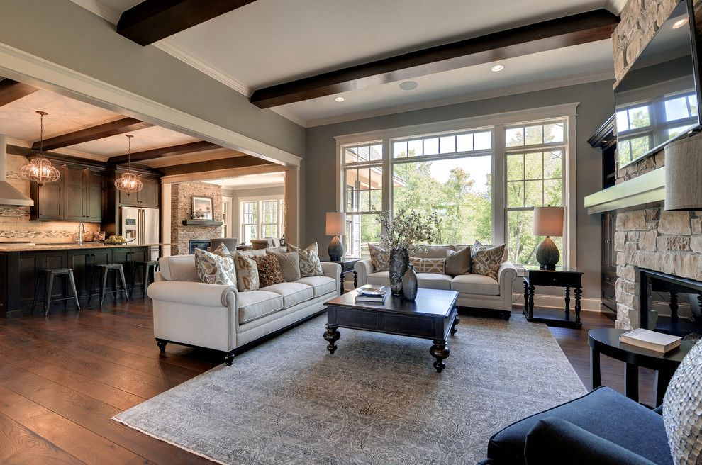 Sears Kit Homes for a Traditional Living Room with a Traditional and 2013 Luxury Home Inver Grove Heights by Highmark Builders
