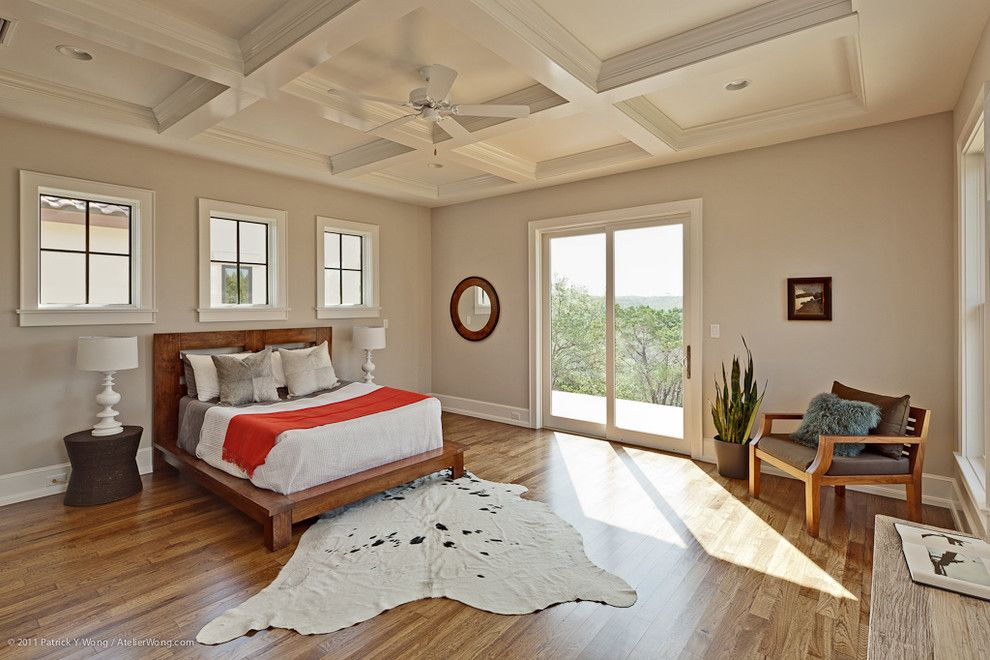 Sears Kit Homes for a Transitional Bedroom with a Recessed Lighting and Hill Country Contemporary by Redbud Custom Homes
