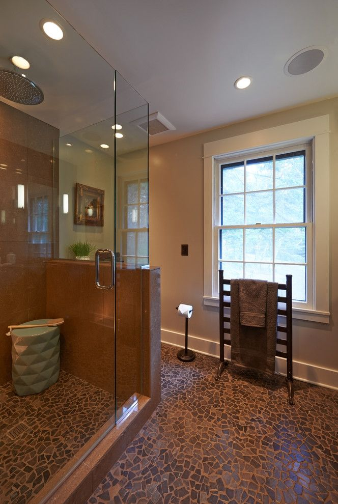 Sears Outlet Portland for a Contemporary Bathroom with a Small Master Bathroom and Vancouver Contemporary Master Bathroom by Robin Rigby Fisher Cmkbd/caps
