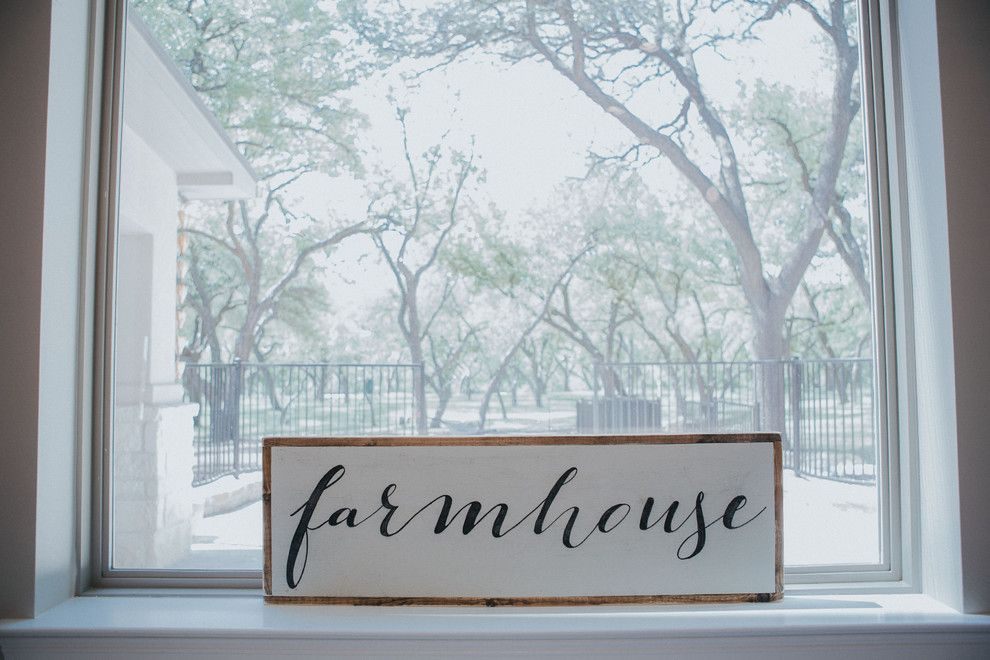Sears San Angelo for a Farmhouse Kitchen with a Handpainted Tiles and San Angelo Farmhouse by Le Belle Maison Interiors Inc.