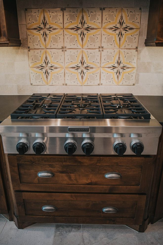 Sears San Angelo for a Farmhouse Kitchen with a Tabarka Tiles and San Angelo Farmhouse by Le Belle Maison Interiors Inc.
