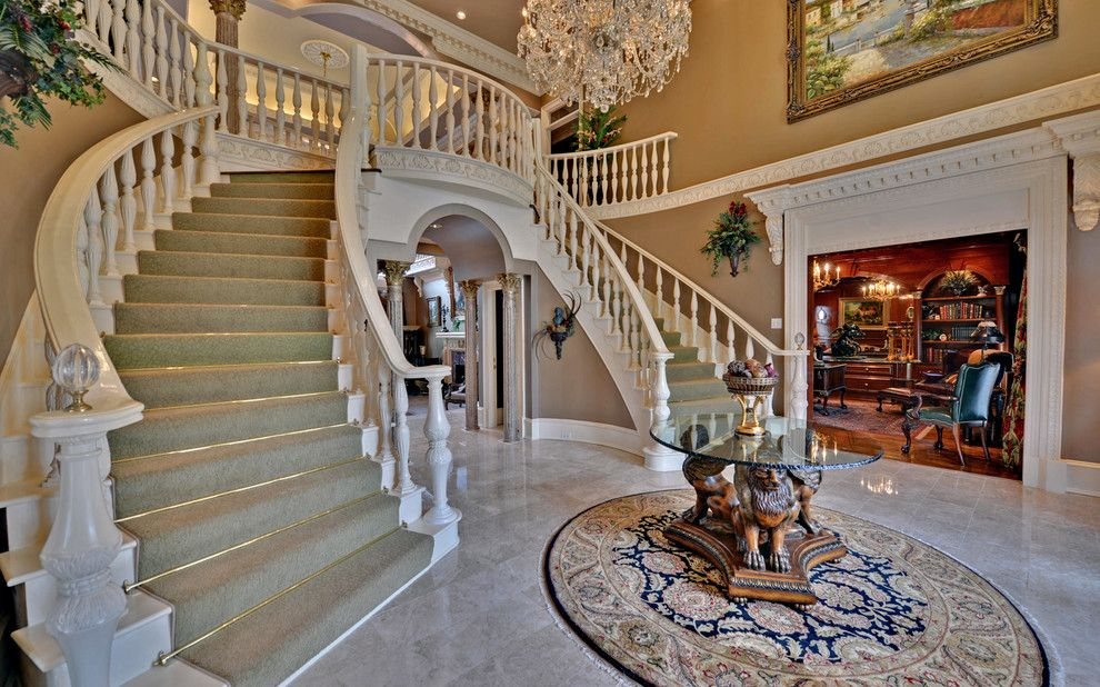 Sedgefield Country Club for a Traditional Entry with a Custom Homes and St. Ives Country Club Custom Homes by Envision Web