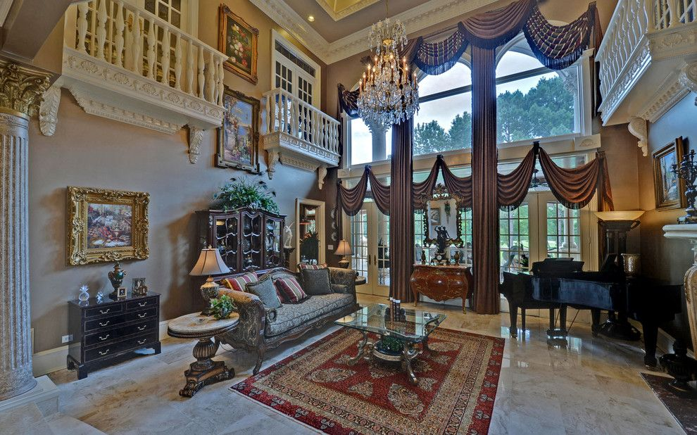 Sedgefield Country Club for a Traditional Living Room with a Custom Homes and St. Ives Country Club Custom Homes by Envision Web