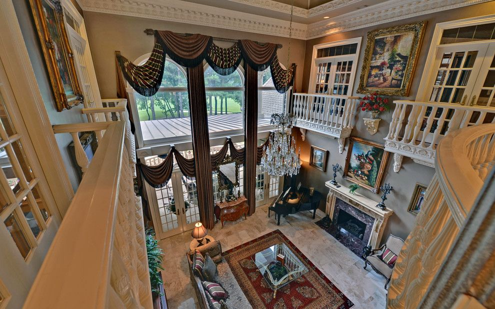 Sedgefield Country Club for a Traditional Living Room with a Envision Virtual Tours and St. Ives Country Club Custom Homes by Envision Web