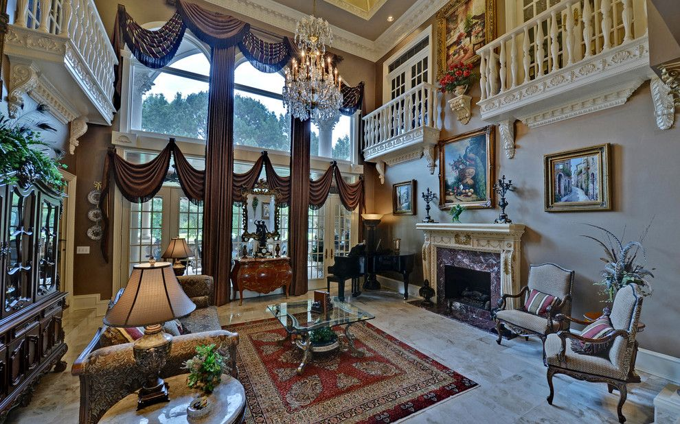 Sedgefield Country Club for a Traditional Living Room with a St Ives Country Club and St. Ives Country Club Custom Homes by Envision Web