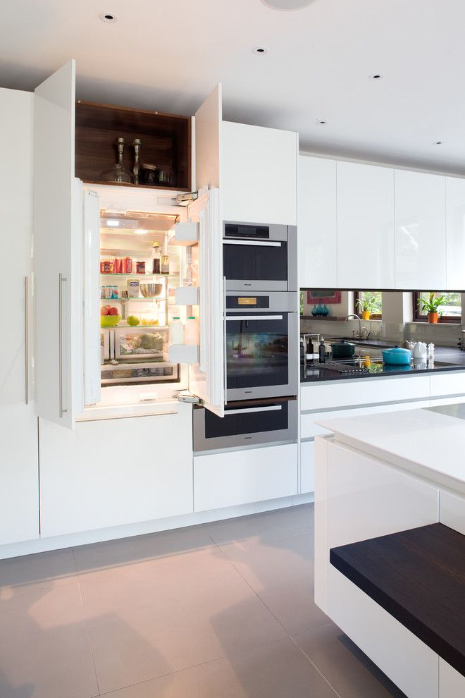 Self Serve Lumber for a Contemporary Kitchen with a Kitchen and Highgate Kitchen by Paul Craig Photography