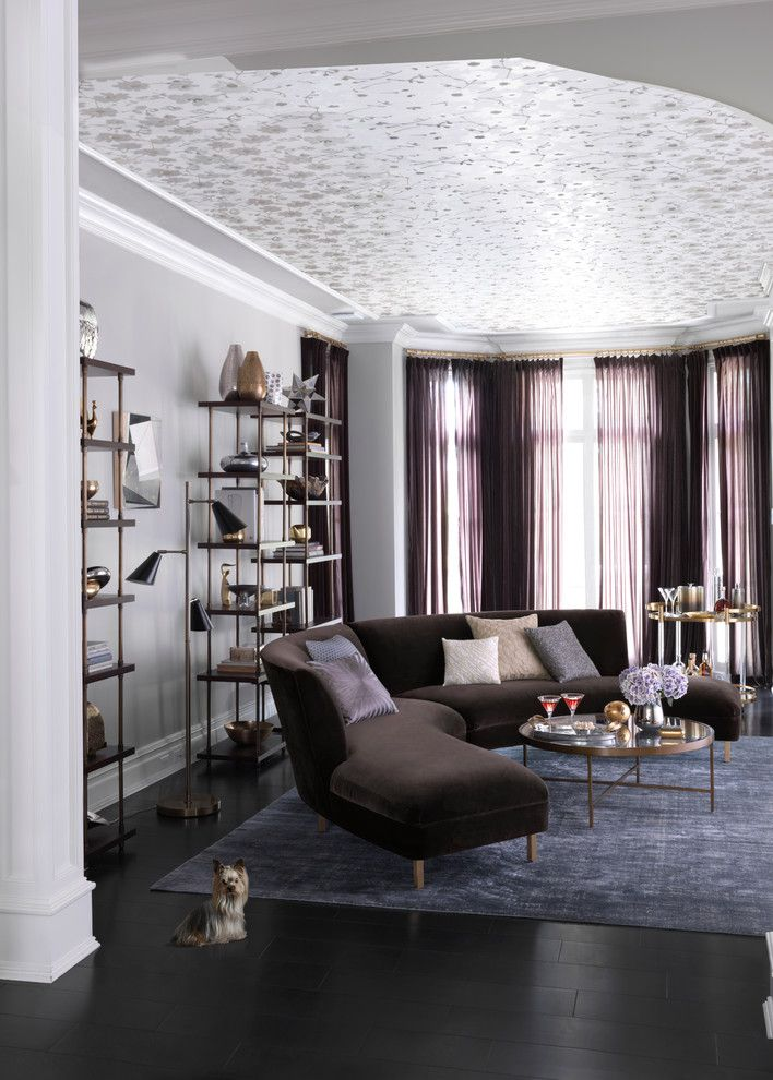 Self Serve Lumber for a Contemporary Living Room with a Contemporary and Mitchell Gold + Bob Williams Living Room by Bloomingdale's