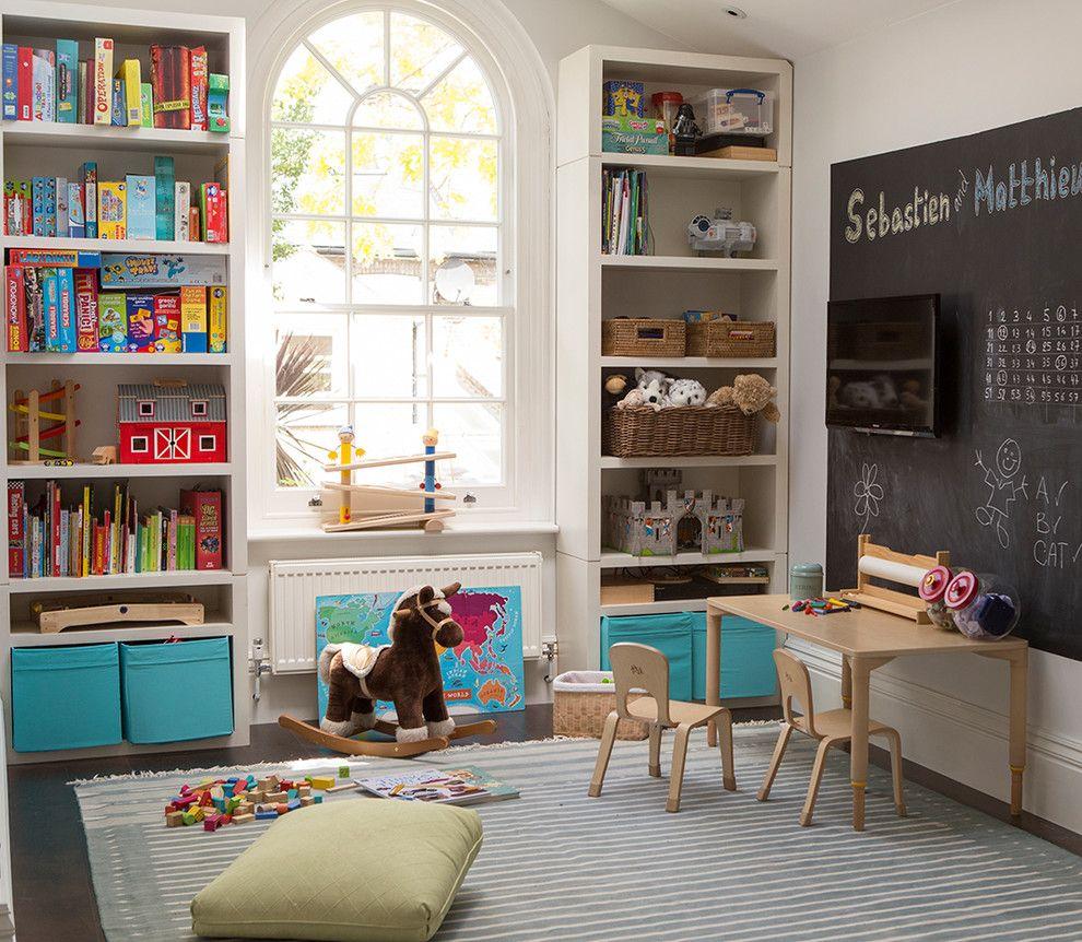 Self Serve Lumber for a Traditional Nursery with a Chelsea and Fulham Av Splendour by Philharmonic Av