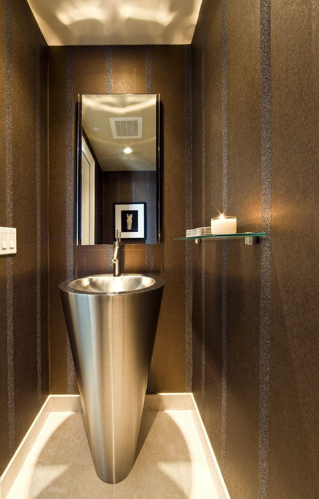 Shelco for a Modern Bathroom with a Bath Accessories and Knudson Interiors by Knudson Interiors
