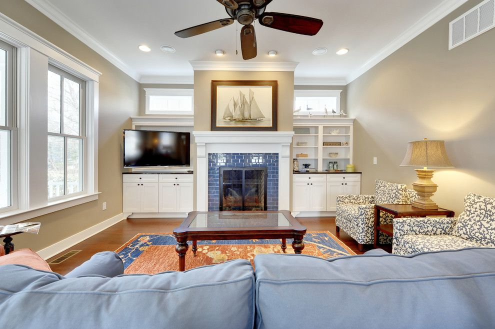 Sherwin Williams Paint Visualizer for a Traditional Living Room with a Arm Chairs and Living Room by Echelon Custom Homes