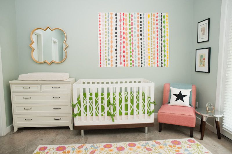 Sherwin Williams Pottery Barn for a Eclectic Kids with a Children Room Design and Eclectic Kids by Sarahstaceydesign.com