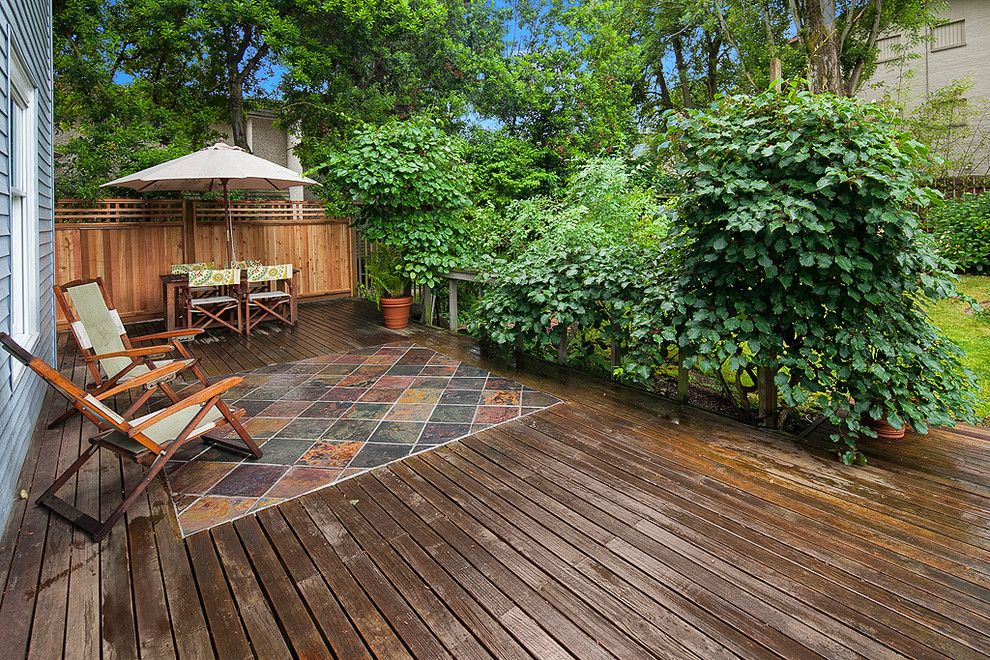 Sherwin Williams Seattle for a Traditional Deck with a List and Wallingford Foursquare  |  Seattle, Wa by Sarah Rollinger   Keller Williams Realty