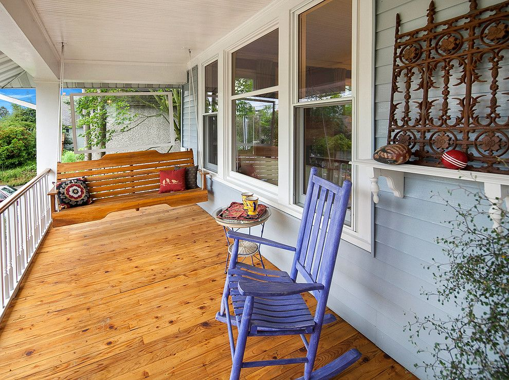 Sherwin Williams Seattle for a Traditional Porch with a Contemporary and Wallingford Foursquare  |  Seattle, Wa by Sarah Rollinger   Keller Williams Realty