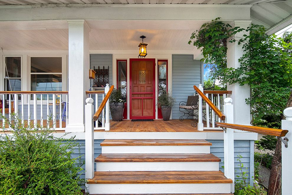 Sherwin Williams Seattle for a Traditional Porch with a Foursquare and Wallingford Foursquare  |  Seattle, Wa by Sarah Rollinger   Keller Williams Realty