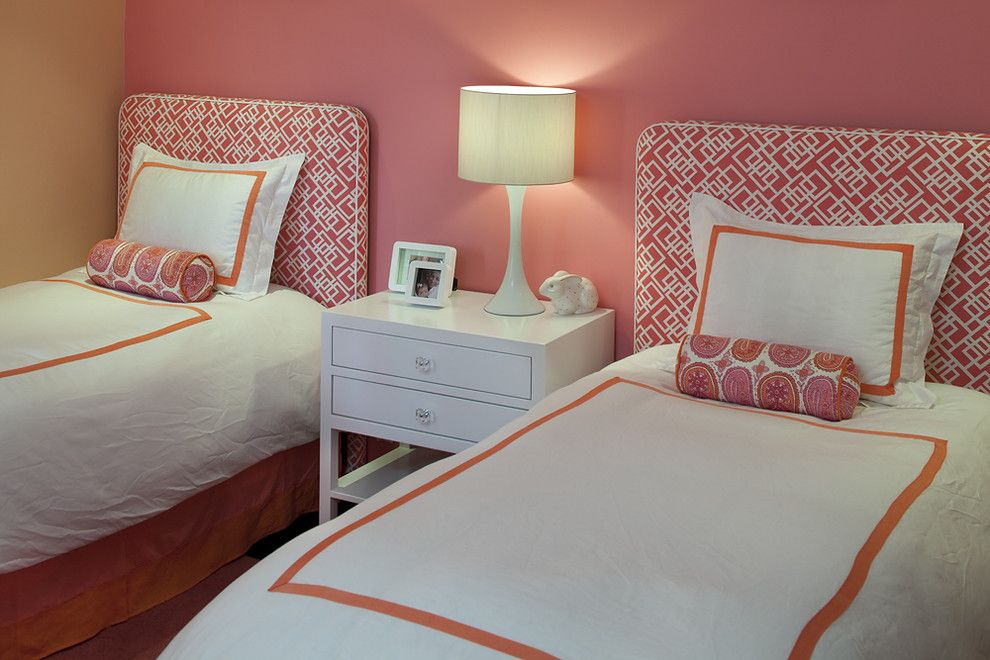 Shoshana for a Contemporary Bedroom with a Orange and Tineke Triggs by Artistic Designs for Living, Tineke Triggs