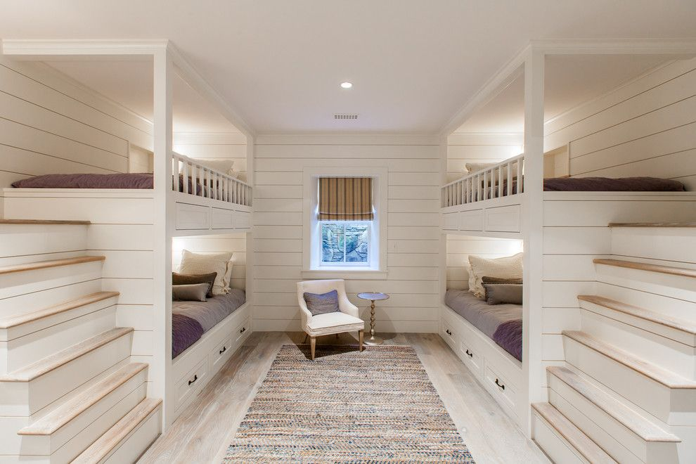 Sibonne Beach Hotel for a Beach Style Bedroom with a Bed Storage and Cliff Road Area   Nantucket by Jonathan Raith Inc.