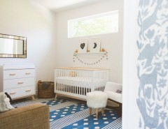 Sibonne Beach Hotel for a Contemporary Nursery with a Nursery and My Houzz: Bright and Boho Austin Home Inspired by a Local Hotel by Heather Banks