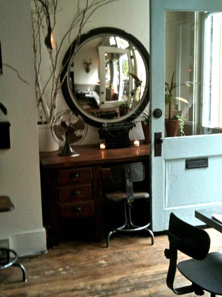 Siesta4rent for a Eclectic Dining Room with a Eclectic and Thistle Restaurant, Mcminnville Oregon by Rebekah Zaveloff | Kitchenlab