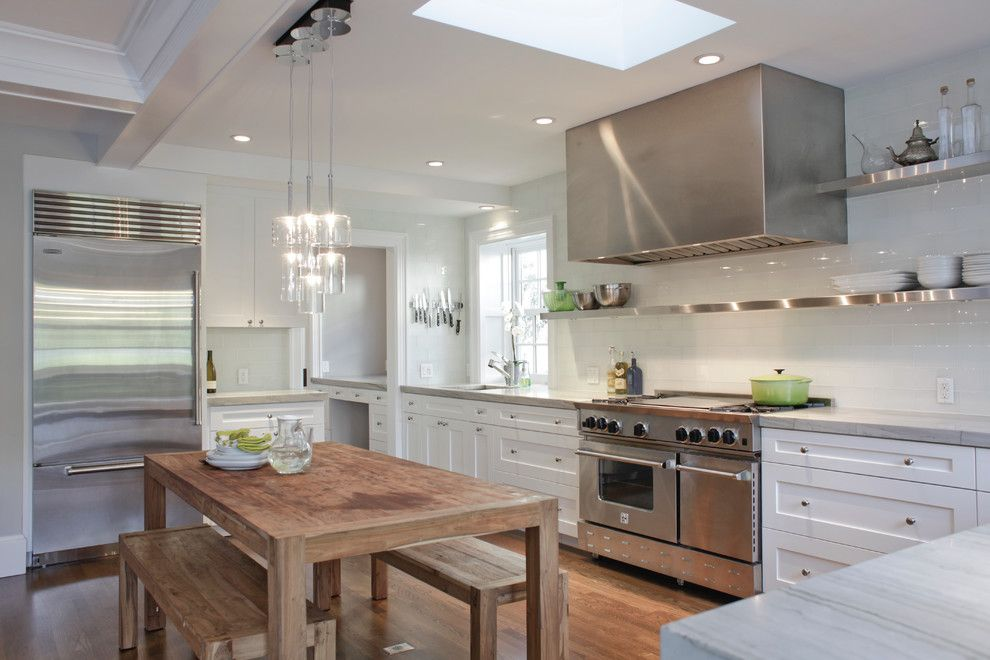Siesta4rent for a Transitional Kitchen with a Transitional and Piedmont Residencevi by Wm. F. Holland/architect