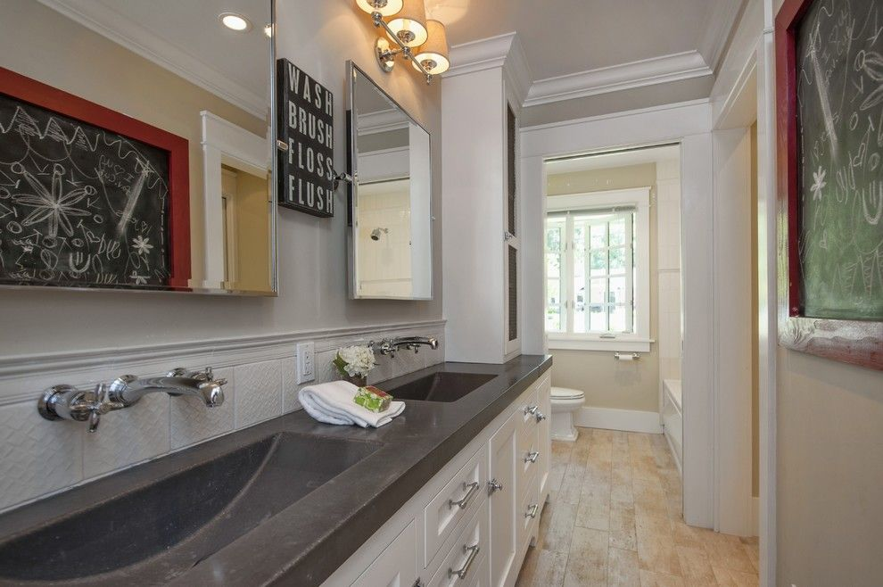 Sighn for a Traditional Bathroom with a White Trim and Bathroom Design Inspiration   Lafayette Ca Homes Staged to Sell by Dana Green